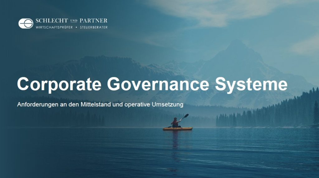 Corporate Governance Systeme Mittelstand